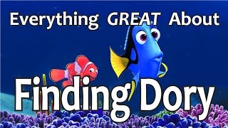 Video Everything GREAT About Finding Dory! MP3, 3GP, MP4, WEBM, AVI, FLV Oktober 2018
