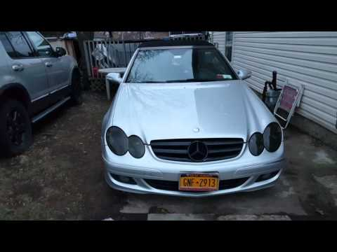 Custom 2007 clk 350 black rims