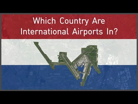 Which Country Are International Airports In