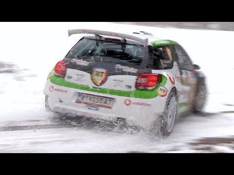 Saarland-Pfalz Rallye 2018 | Crash & Snow Action