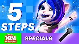 🌟 How to be a Superstar - Tips by Talking Angela (Talking Tom and Friends Bonus Video)