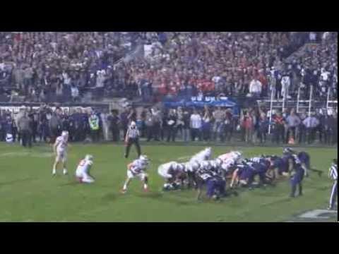 Ohio State Football Field Goal against Northwestern October 5, 2013