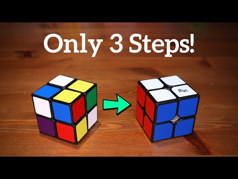 How To Solve a 2x2 Rubik's Cube (Under 5 Minutes!)