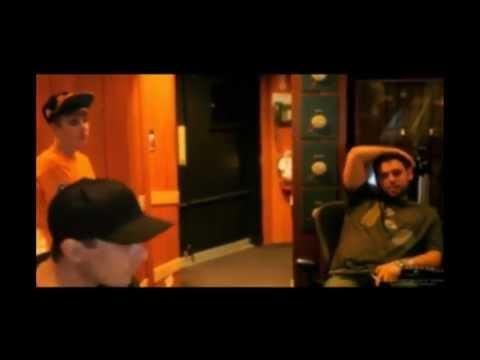 Justin Bieber - recording album UNDER THE MISTLETOE