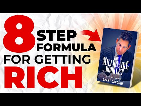 Simple 8 Step Formula For Getting Rich In Hindi - How To Become A Millionaire In Hindi