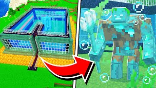 How to Make a MUTANT DROWNED FARM in Minecraft! (Pocket Edition, PS4, Switch, Xbox, PC)