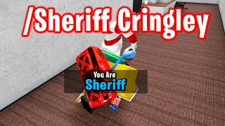 SHERIFF ADMIN COMMAND in ROBLOX MURDER MYSTERY 2
