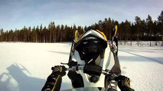 5. Ski-Doo X-RS 800 E-TEC One hand wheelie and sitting down Sweden Pitea