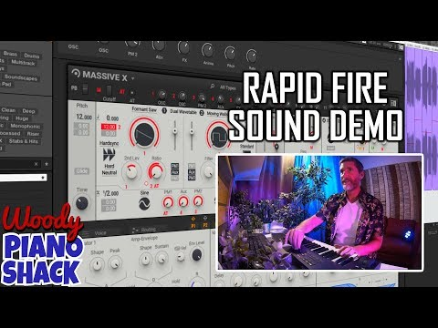 MASSIVE X sounds - RAPID FIRE preset demo