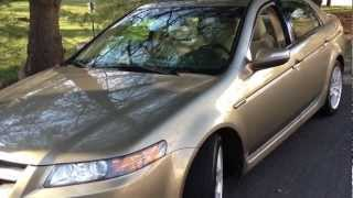 2008 Acura TL Review, Walk Around, Start Up&Rev, Test Drive