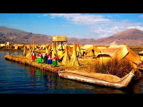 Las Islas de los Uros, lago Titicaca - Perú