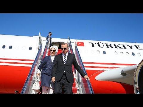 Στην Ουάσιγκτον έφτασε ο Ερντογάν – Συνάντηση με τον Ντ.Τραμπ
