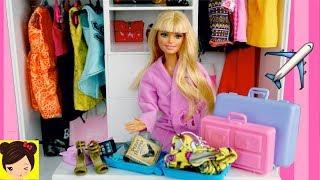 Barbie Empaca Sus Maletas para Viajar - Los Juguetes de Titi