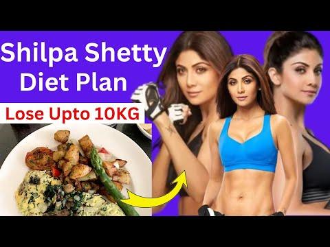 शिल�पा जैसा फिगर पाने के लि� अपनायें ये डाइट प�लान, How to Lose Weight Fast 10kgs | Celebrity Diet 1