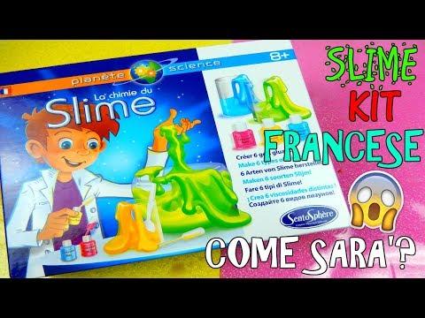 PROVO SLIME KIT FRANCESE! (LA CHIMICA DELLO SLIME) COME SARA'? Iolanda Sweets
