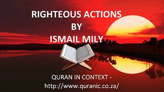 RIGHTEOUS ACTIONS
