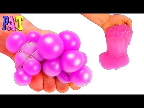 Как сделать шарик антистресс без лизуна
