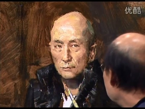 Real-Time Oil Painting Portrait by Master Artist
