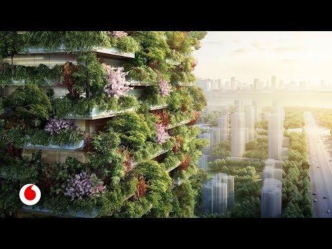 Bosques que crecen en edificios a 100 metros de altura (видео)