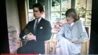 ★ Princess Diana - My Body Language Analysis. Pre Wedding Interview With Prince Charles - CJB ★