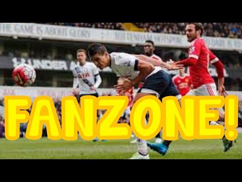 Football Fanzone!Tottenham 3-0 Man United!My Reaction And Analysis