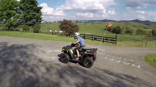 10. Polaris Sportsman 110 First Ride