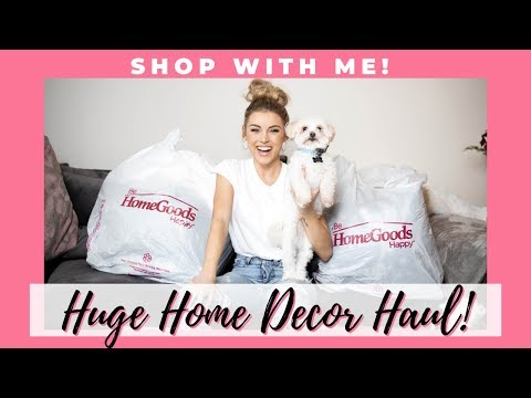 Huge Home Decor Haul | Shop With Me