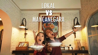 KULINER LOKAL VS MANCANEGARA (ft. Devina Aureel, Gerry Girianza, JWestBros)
