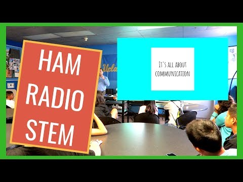 Talking To Young People About Amateur Ham Radio