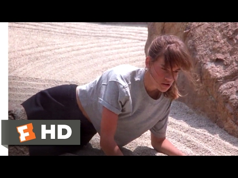 The Next Karate Kid (1994) - The Sacred Garden Scene (3/10) | Movieclips