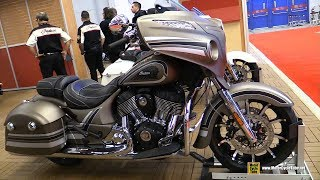 5. 2018 Indian Chieftain Limited - Walkaround - 2018 Montreal Motorcycle Show