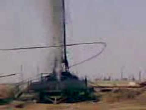 Oilfield Workover Rig Blows Out Tubing-Awesome Footage!