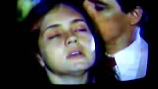 Uma cena da minissérie Decadência exibida no segundo semestre de 1995. Tinha como protagonistas Edson Celulari como o pastor Dom Mariel e Adriana ...