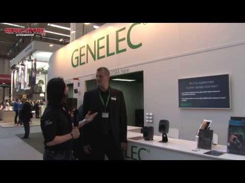 Musikmesse 2014 GENELEC 8010 Studio Monitor Lautsprecher (deutsch)