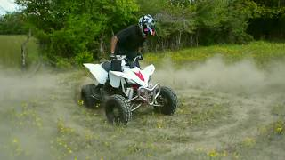 6. 2018 Yamaha Raptor 700R & YFZ 450 Riding HARD!!