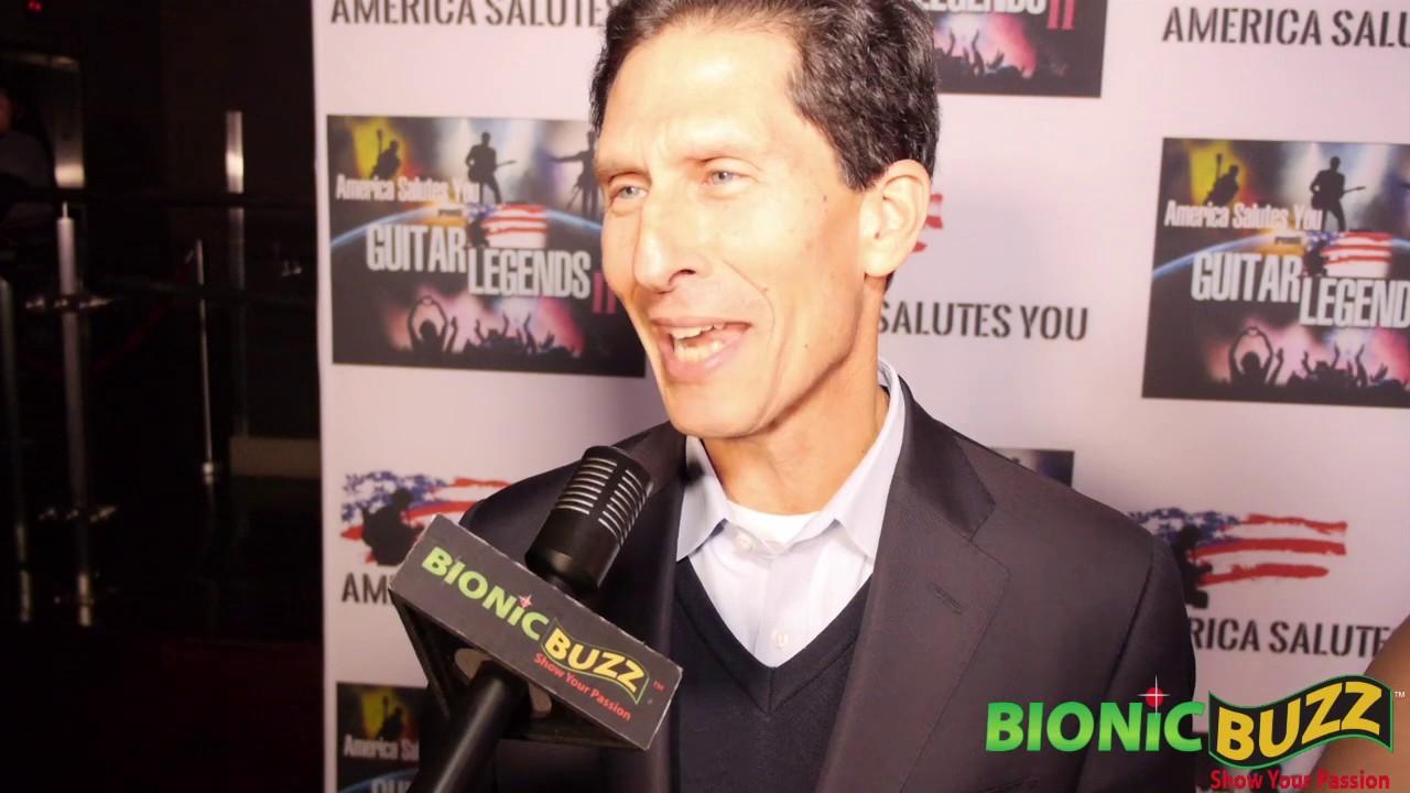 Bob Okun Interview at America Salutes You presents Guitar Legends II