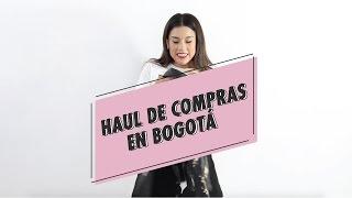 Tendencias Otoño Invierno 2017 + Haul: compras en Bogotá