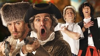 Lewis and Clark vs Bill and Ted. Epic Rap Battles of History