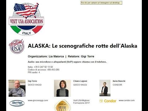 Video ALASKA: Le scenografiche rotte dell'Alaska (29-3-2018)