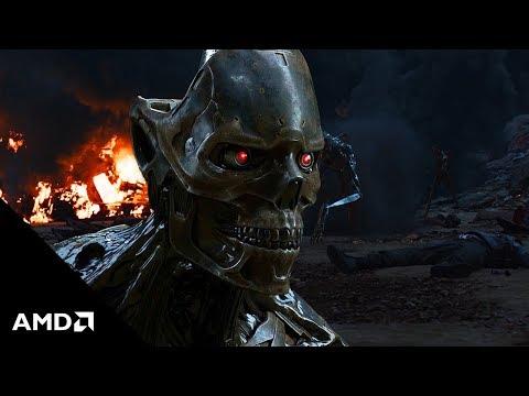 Terminator: Dark Fate meets 3rd Gen AMD Ryzen™ Threadripper™