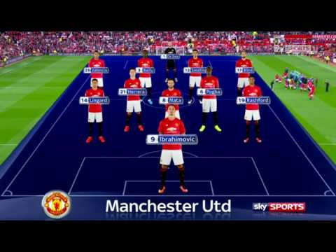 Manchester United Vs Leicester City 4-1 All Goals And Highlights (premier League) 24/09/2016