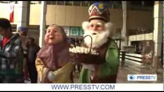 Iranians Are Celebrating Nowrouz - The Persian New Yearجشن نوروز در ايران