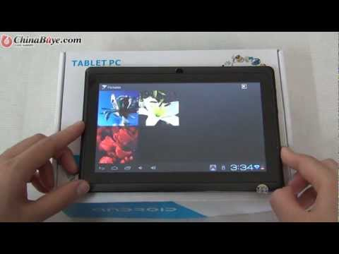 Q88++ 4GB Allwinner A13 DDR3 512MB 7inch Capacitive Screen Android 4.0 Dual Camera Tablet PC