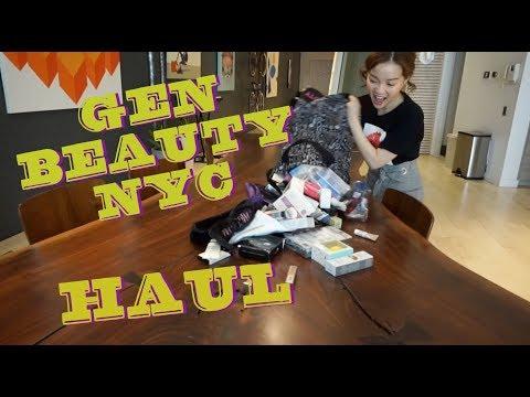 NYC VLOG PART 2 - GEN BEAUTY HAUL (видео)