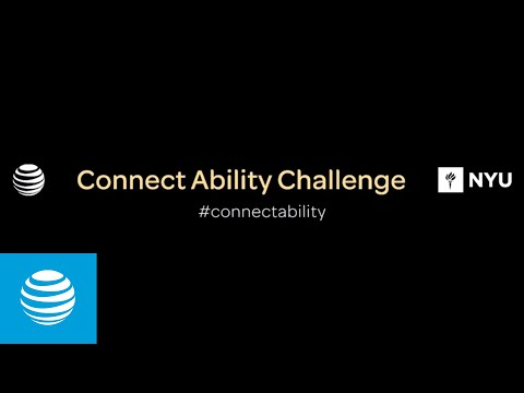 Introducing the AT&T and NYU Connect Ability Challenge marking the 25th Anniversary of the A.D.A.