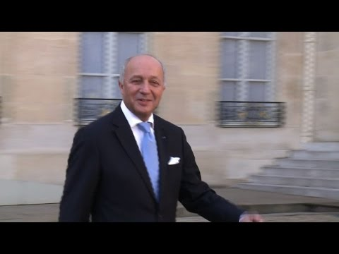 French foreign minister Fabius says he is leaving government