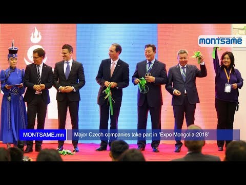 Major Czech companies take part in 'Expo Mongolia-2018'