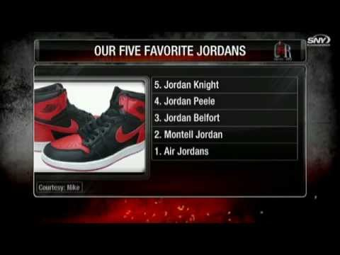 Video: Covino & Rich: Top 5 Jordans