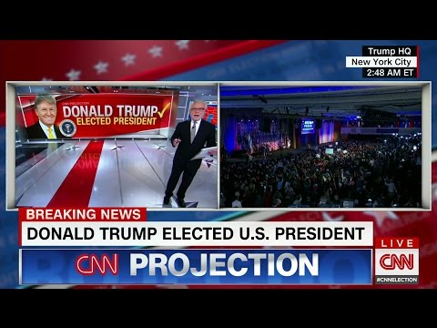 CNN Election Night Coverage 2016 - All CNN Projections & Key Race Alerts (State Calls)