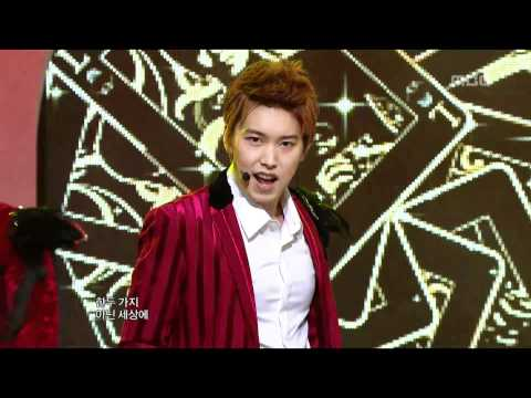 Super Junior – Mr.Simple, 슈퍼주니어 – 미스터심플, Music Core 20111224